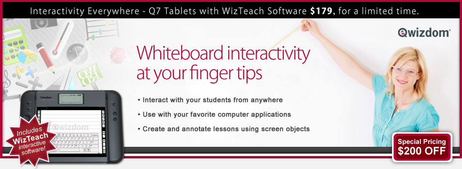 Qwizdom Q7 Tablets